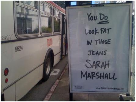 I hate sarah marshall transit