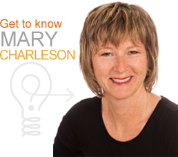 Get to know Mary Charleson